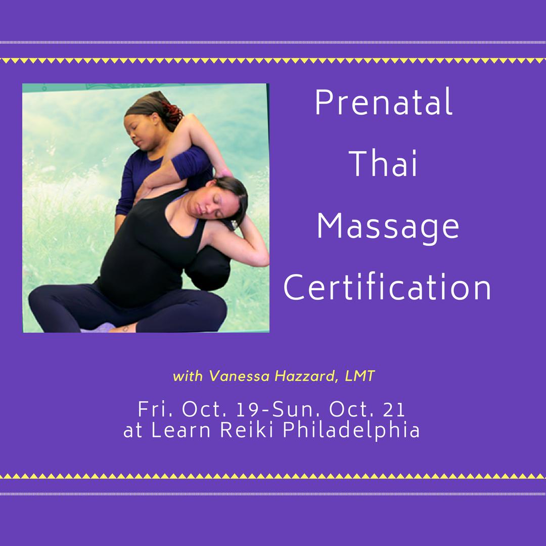Thai Massage Certification Learn Reiki Philadelphia