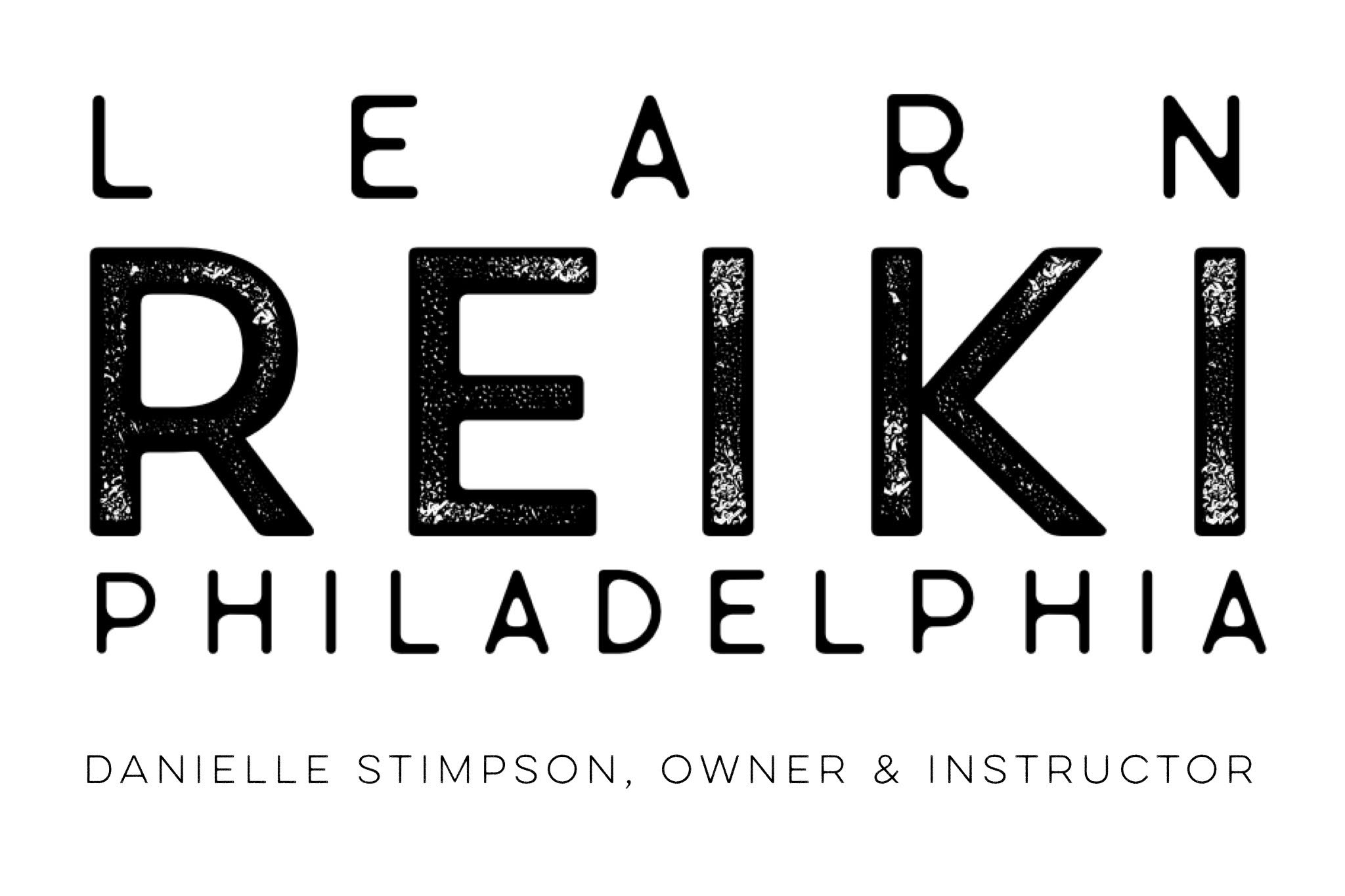 Logo, Learn Reiki Philadelphia Danielle Stimpson, Owner