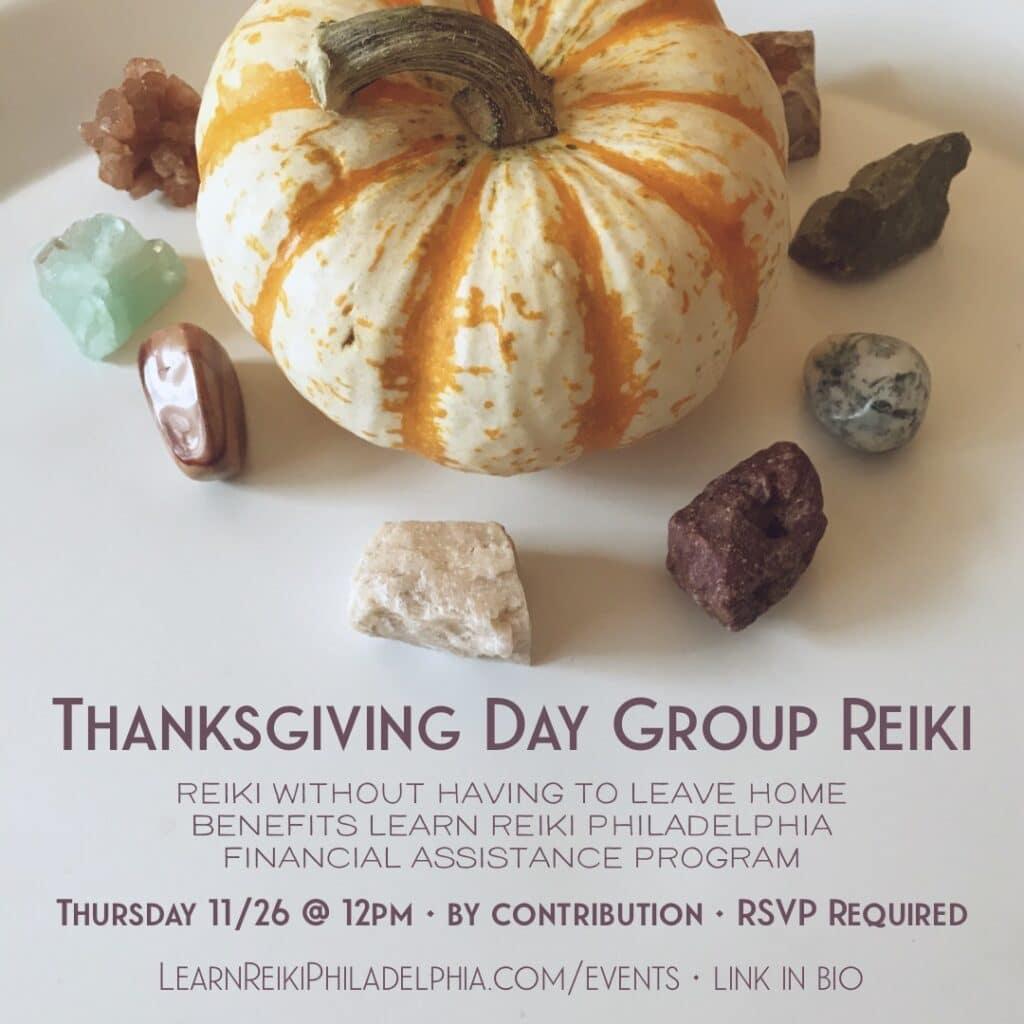 Thanksgiving 2020 Group Reiki